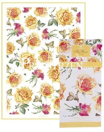 ŚCIERKA KUCHENNA - RĘCZNIK ASHDENE The Roses Tango Yellow - Róże herbaciane
