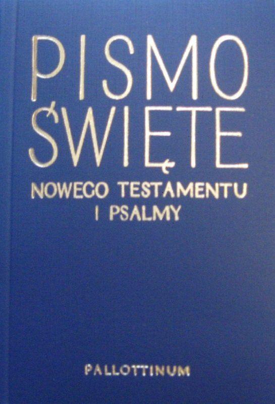 Biblia Tysiąclecia Nowy Testament i Psalmy mały granat op. broszurowa