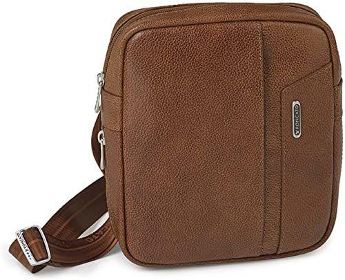 Roncato Panama Dlx torba na ramię, 23 cm, brązowa (Marrón)