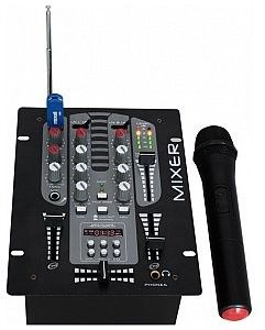 Ibiza Sound DJM150BT-VHF, mikser DJ