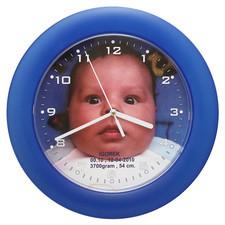 Zegar pamiątka narodzin chłopca