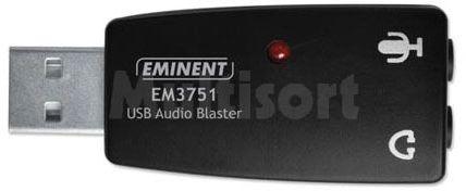 Przejściówka USB dla mikrofonu i słuchawek ( karta dźwiekowa )