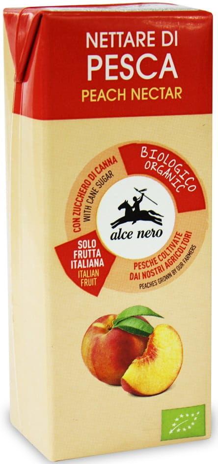 Nektar brzoskwiniowy bio 200 ml - alce nero