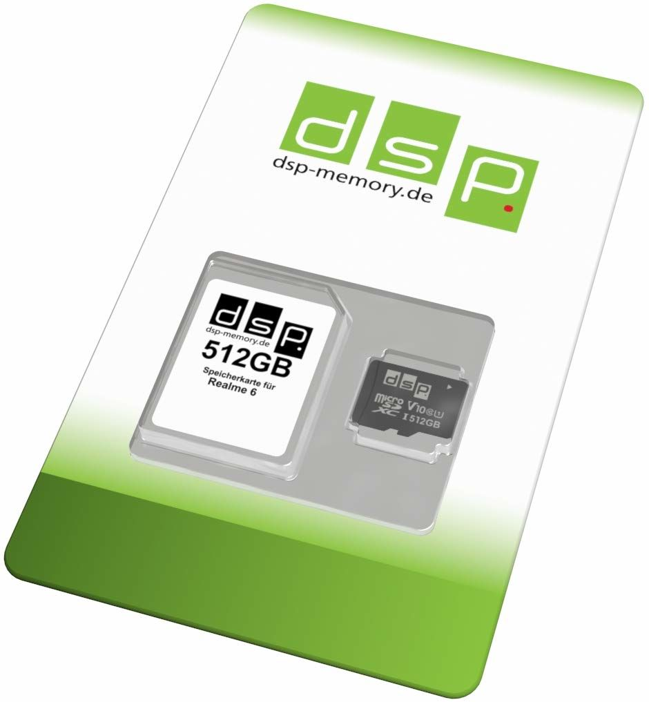 Karta pamięci 512 GB microSDXC (klasa 10) dla Realme 6