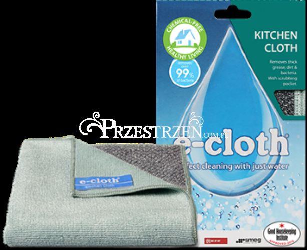 ŚCIERECZKA DO KUCHNI do czyszczenia i mycia bez detergentów - E-cloth KC E20517
