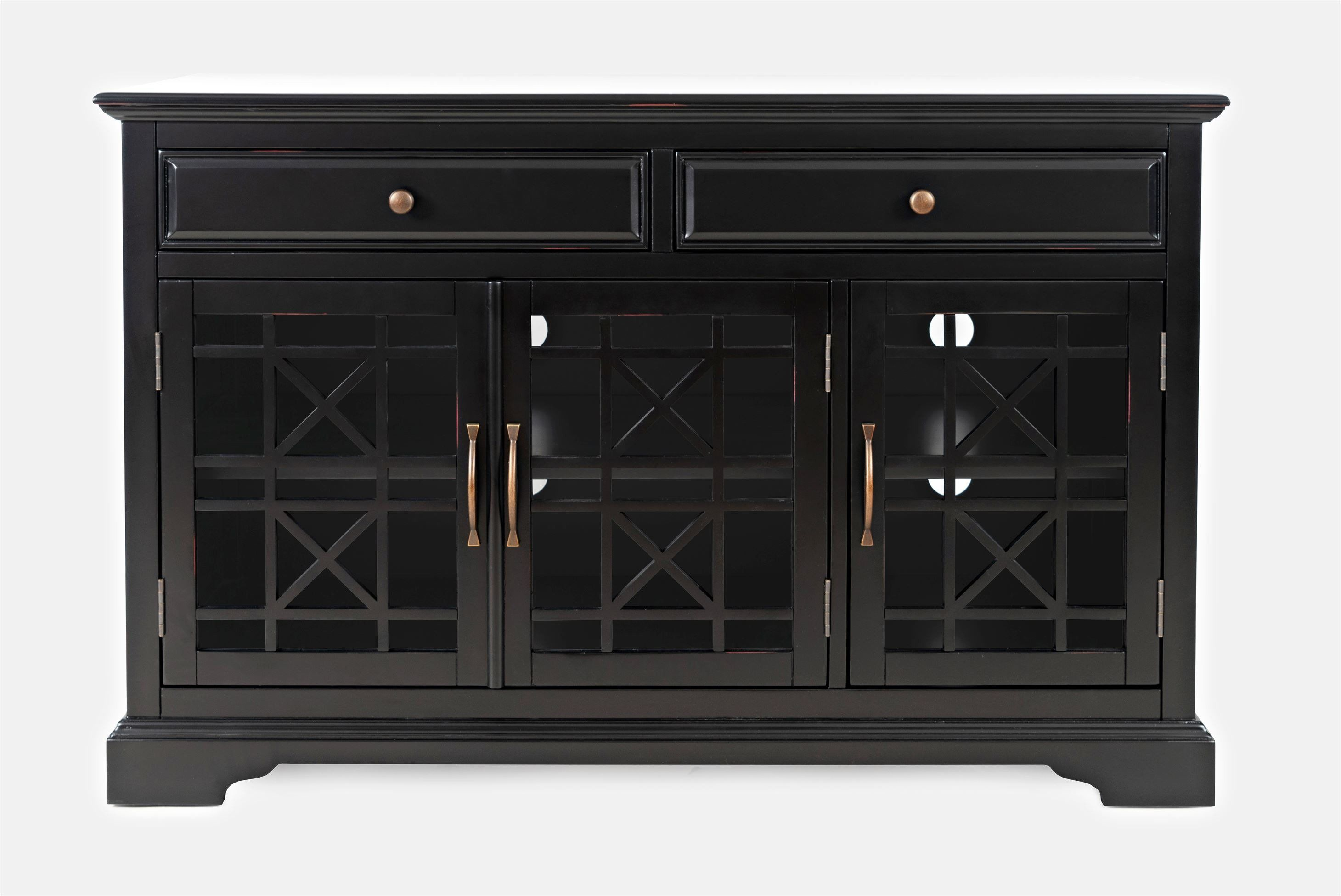 AV275-50 Komoda 3D/2S Avola Antique Black
