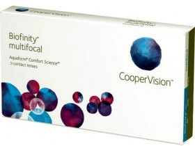Biofinity Multifocal 3 szt. typ D