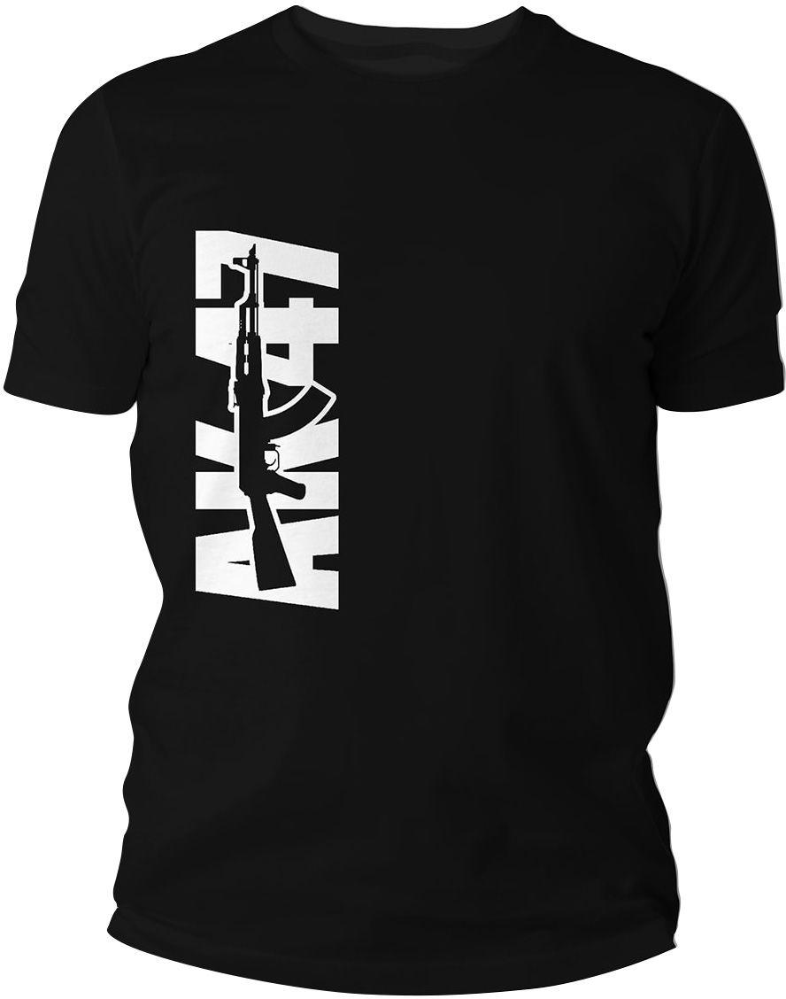 Koszulka T-Shirt TigerWood AK47 - czarna