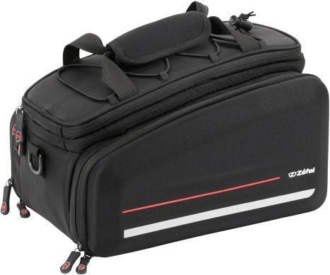 ZEFAL torba rowerowa na bagażnik z traveler 80 czarny ZF-7039B,3420587039212
