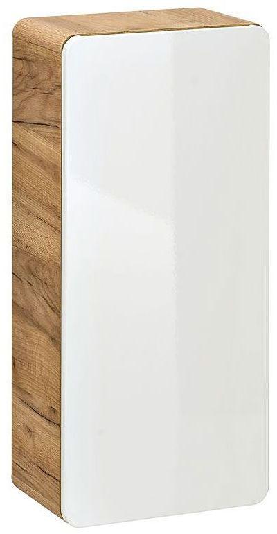 Szafka łazienkowa wisząca Borneo 7X - Biały połysk