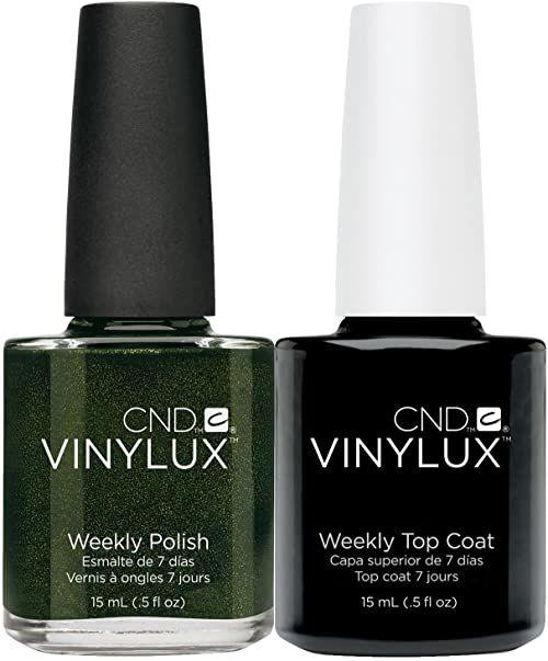 CND Vinylux Pretty Poison plus Top Coat 15 ml, 1 opakowanie (1 x 30 ml)