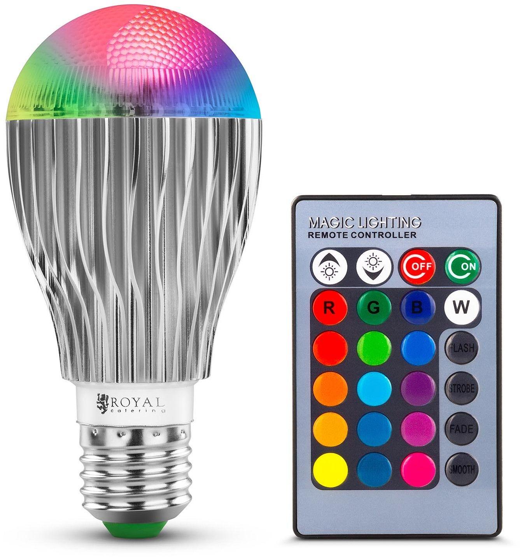 Żarówka LED RGB - Royal Catering - RCBL-9W27 - 3 lata gwarancji/wysyłka w 24h