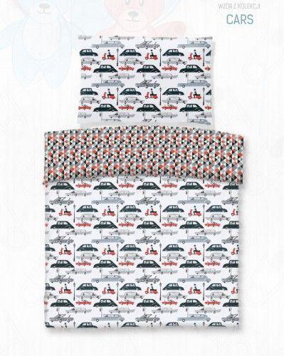 Darymex Pościel bawełna druk CARS 90x120
