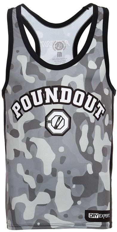 Poundout tank top Brigade