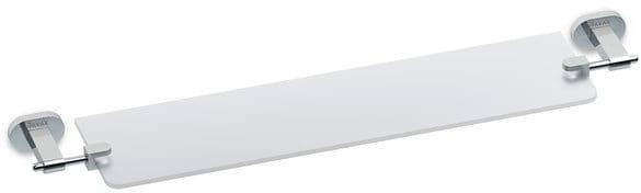 Ravak Chrome półka szklana 64 cm ścienna CR 500.00 chrom X07P195