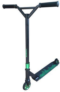 Hulajnoga wyczynowa INDIANA X3 Czarno-zielony DARMOWY TRANSPORT!