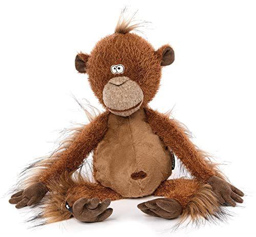 Sigikid 38741 pluszak dla dorosłych i dzieci, małpa, Mon Key, BeastsTown, brązowy, 38741