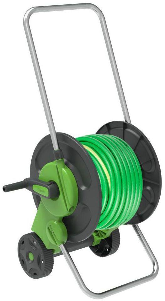 """Wózek z wężem ogrodowym 30 m 12,5 mm (1/2"""") GEOLIA"""