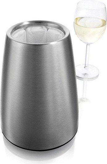 Kubełek na butelkę wina active wine cooler elegant stalowy