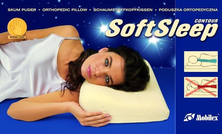 Poduszka ortopedyczna SoftSleep Classic