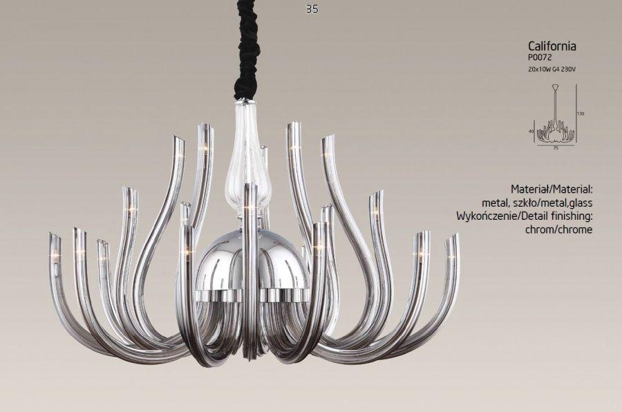 Lampa wisząca California P0072 MAXlight
