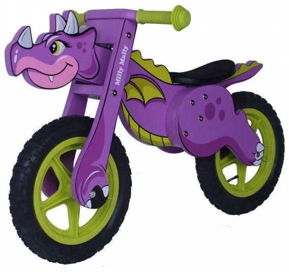 Rowerek Biegowy Dino Violet