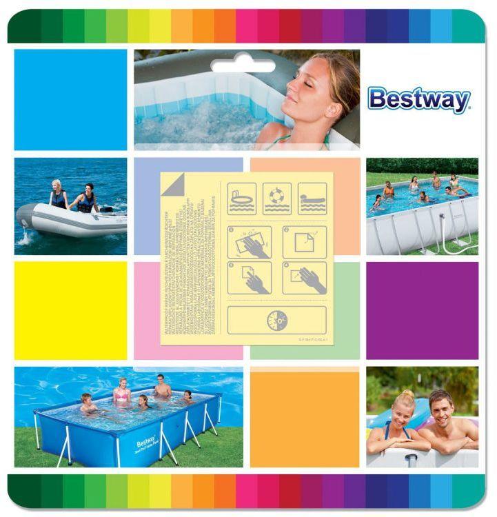 Łatka do naprawy basenów wodoodporna Bestway 62091