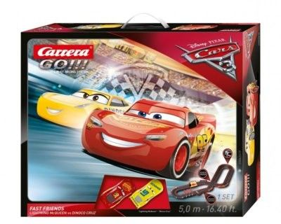 Carrera GO!!! - Disney Auta CARS3 Fast Friends 62419