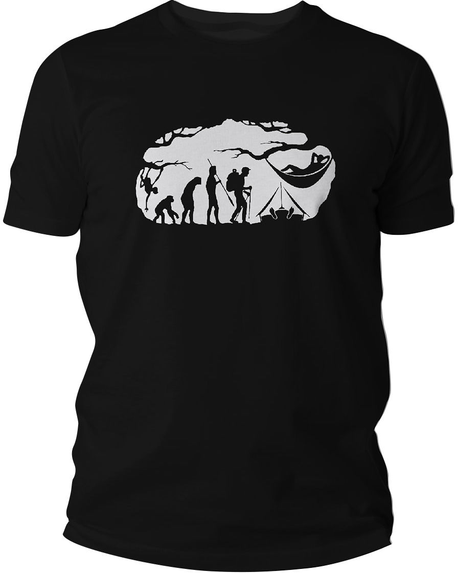 Koszulka T-Shirt TigerWood Bushcraft Evolution - czarna