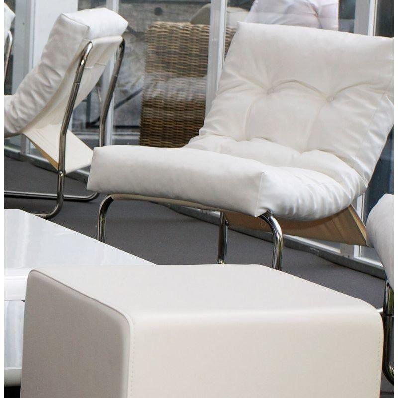 Kokoon design - fotel boudoir - biały