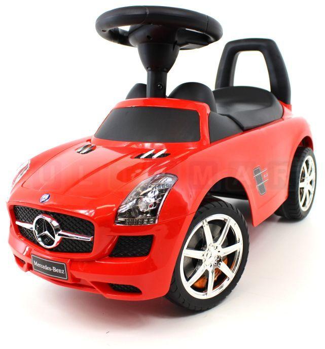 Jeździk - samochód Mercedes BENZ - licencja