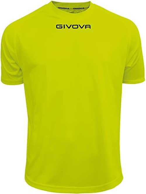 Givova - MAC01 Sport T-shirt, żółty fluo, XL