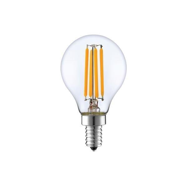 Żarówka Filament LED E14 G45 4W ciepła 2700K