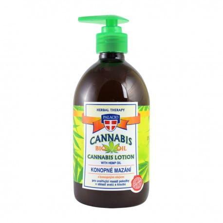 Konopny żel do masażu z zawartością 5% oleju konopnego 500ml