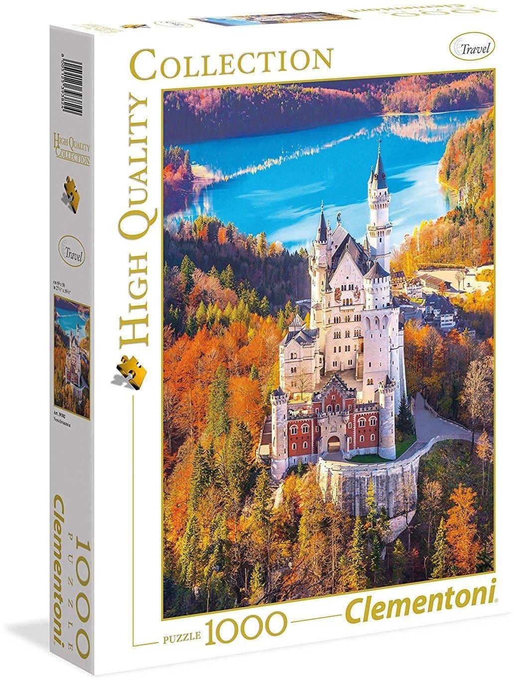 Puzzle Clementoni 1000 - Neuschwanstein