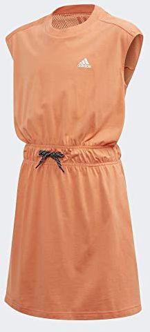 adidas Jg A sukienka dziecięca, uniseks różowy Semcor/White 104