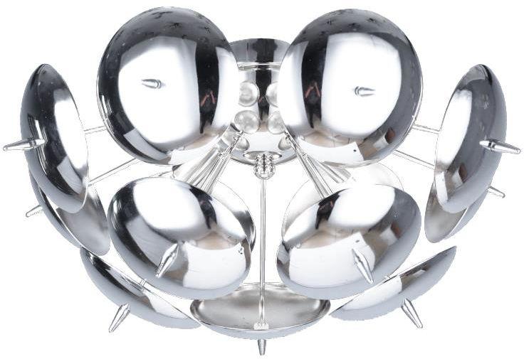 Lampex Muskat P4 731/P4 plafon lampa sufitowa nowoczesna metalowa chrom G9 4 x 8W 36cm
