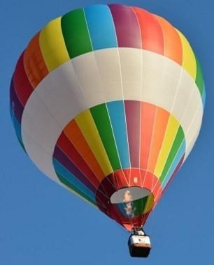 Rodzinny lot balonem  Dolina Biebrzy