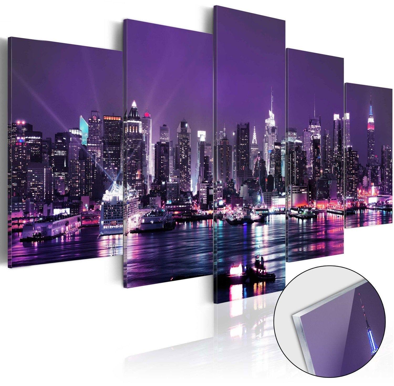 Obraz na szkle akrylowym - purpurowe niebo [glass]