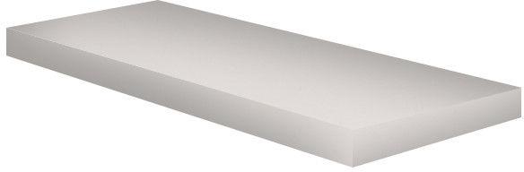 Półka meblowa 120 x 20 x 1,8 cm biała połysk