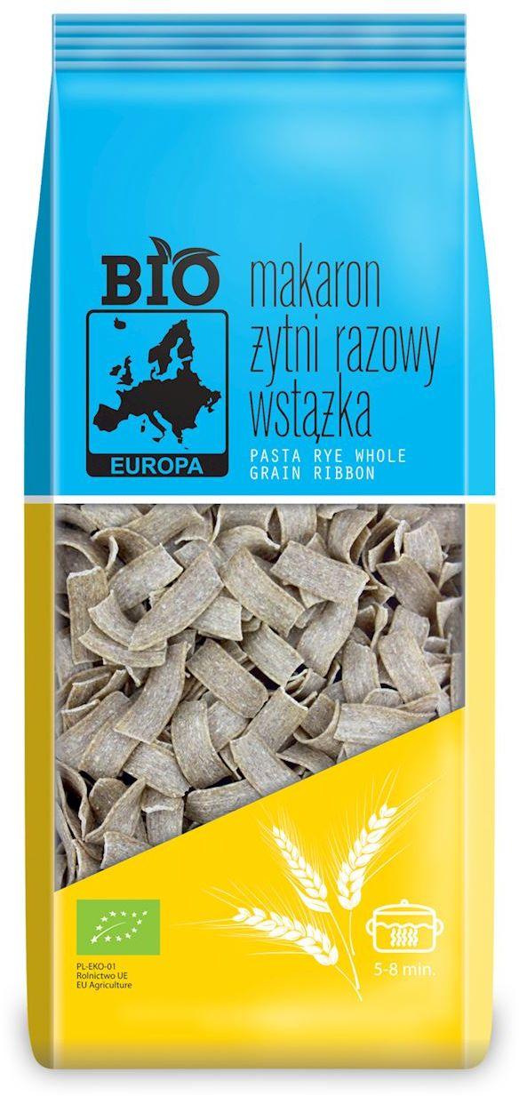Makaron (żytni razowy) wstążka bio 400 g - bio europa