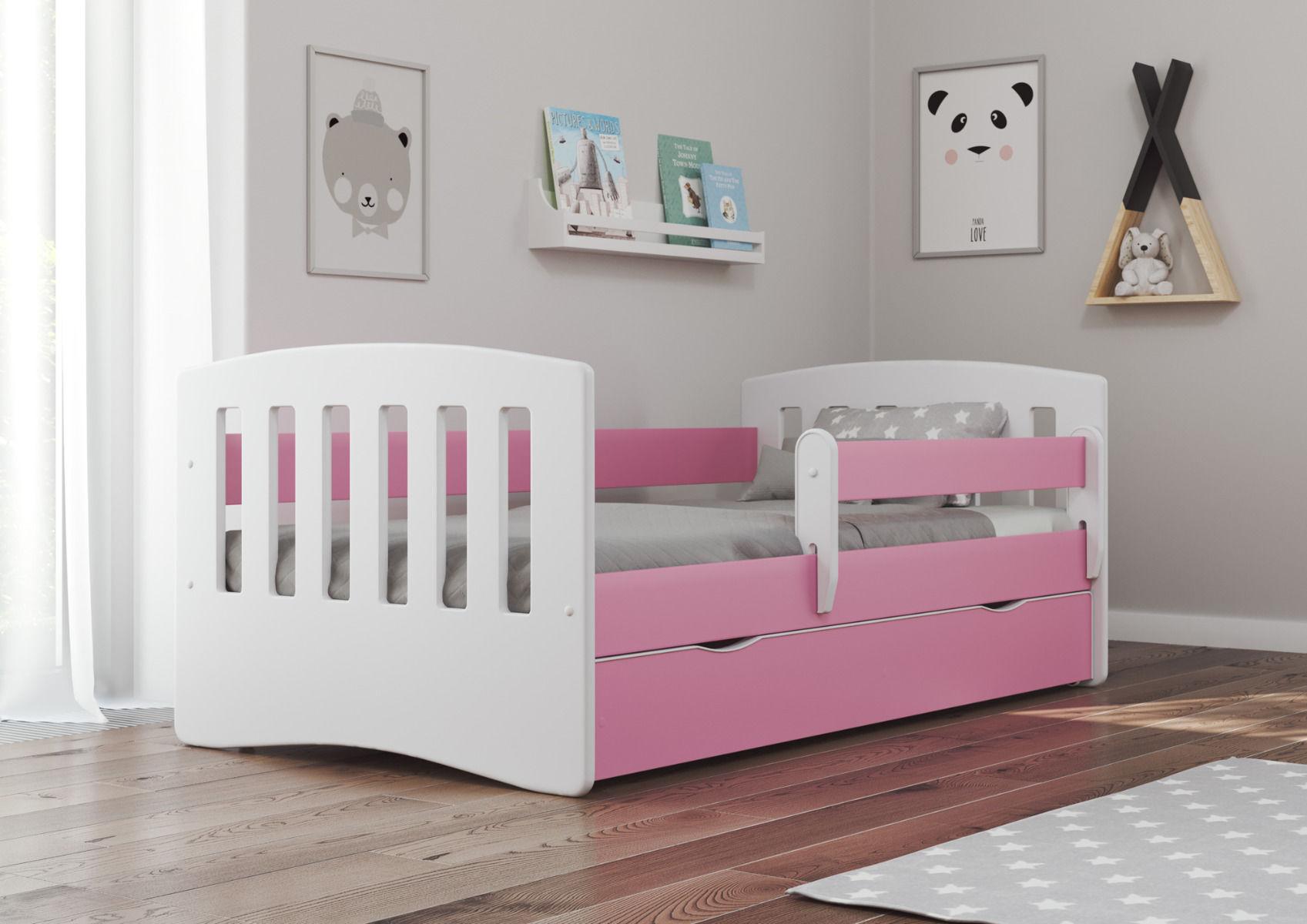 Łóżko BAMBINO 160 dla dzieci z szufladą  KUP TERAZ - OTRZYMAJ RABAT