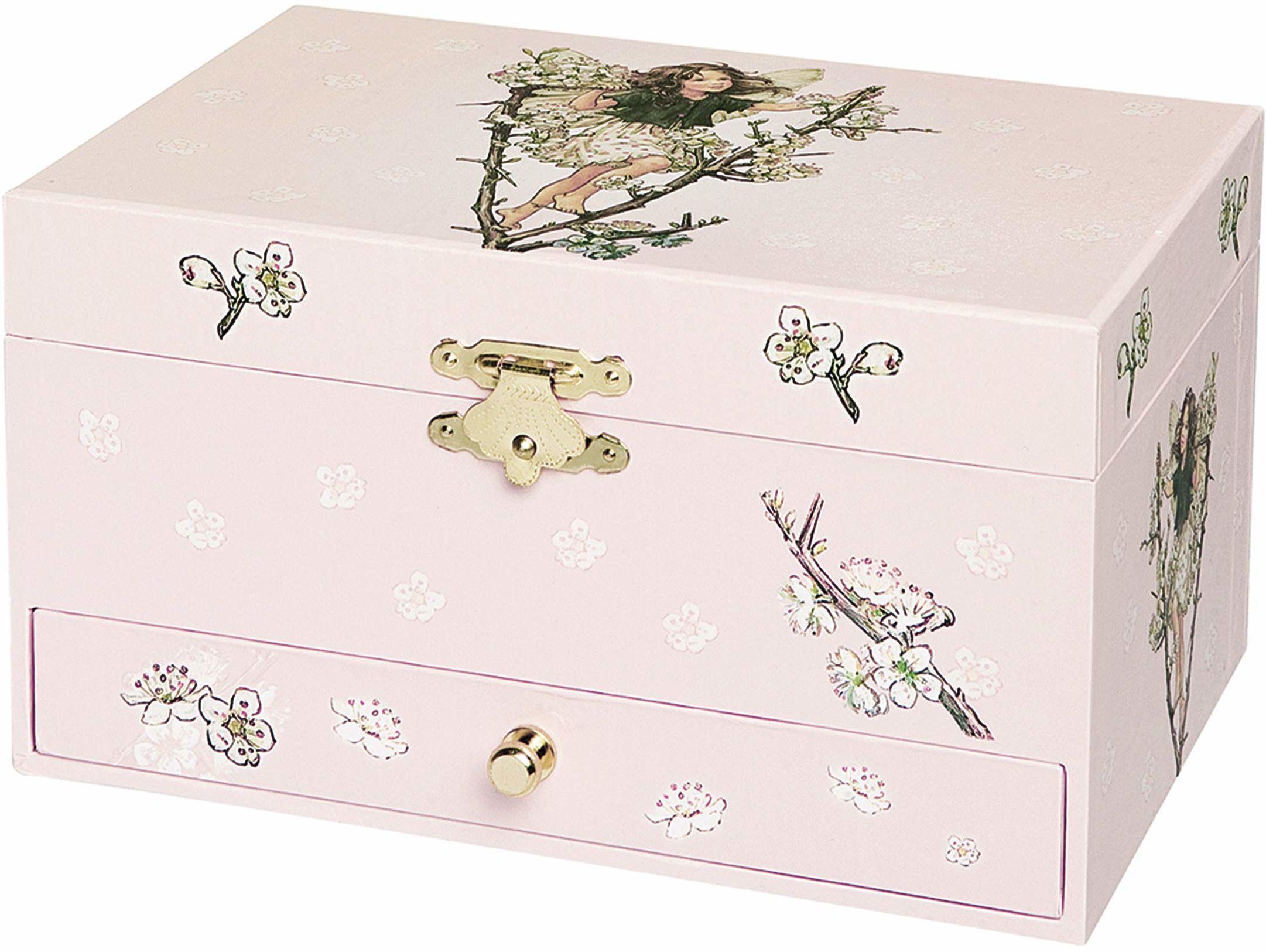 Trousselier Wiśnia kwiat wróżki muzyczne pudełko na biżuterię, TROUS60614
