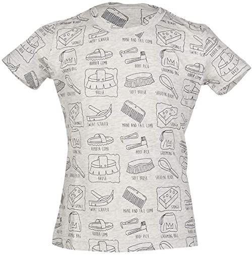 HKM koszulka dla dorosłych Royal-9575 meliert134/140 spodnie, 9575 szary melanż, 134/140