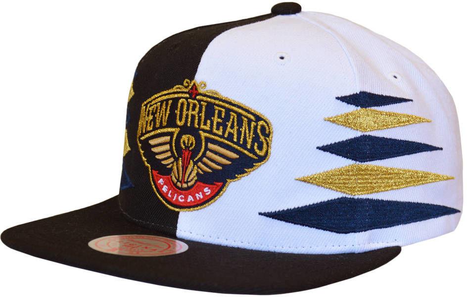 Czapka z daszkiem Mitchell & Ness NBA New Orleans Pelicans Snapback
