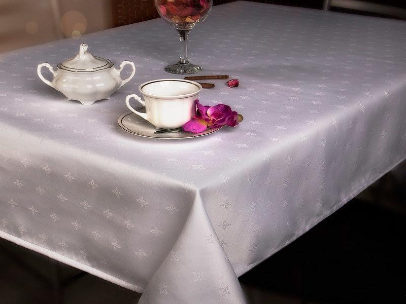 Bieżniki i Serwety Restauracyjne Obszywane Biały 18