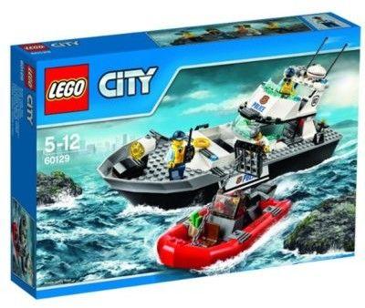 Klocki City 60277 Policyjna łódź patrolowa