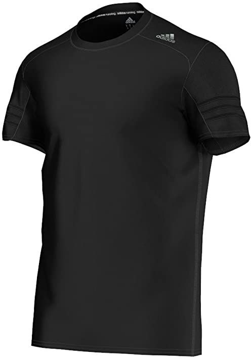 Adidas Męska koszulka Response czarna, średnia