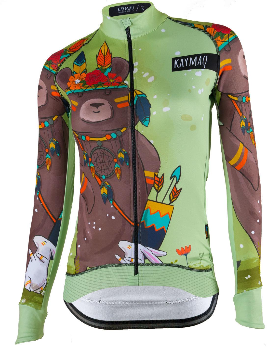 KAYMAQ DESIGN W12 damska bluza rowerowa Rozmiar: S,KMQ-W12