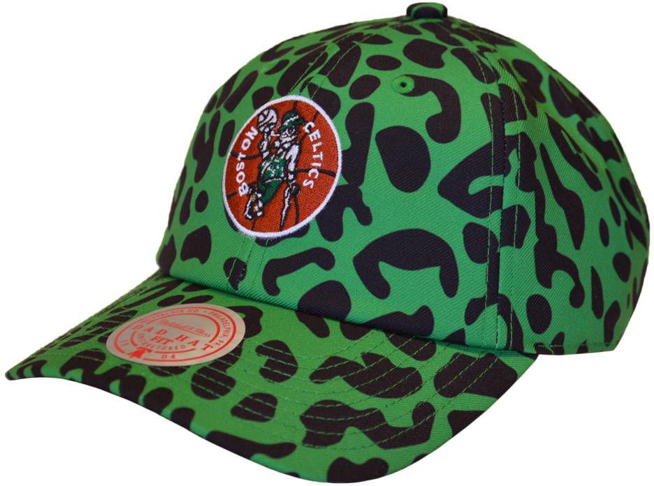 Czapka z daszkiem Mitchell & Ness NBA Boston Celtics Snapback zielona